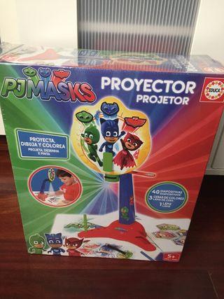 Juguete proyector pjmasks