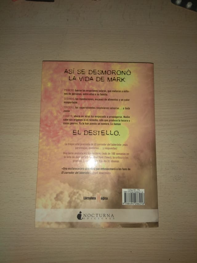Libro El destello