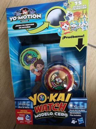 Yo Kai Watch modelo Zero con 2 medallas