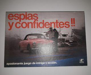 Juego Vintage ESPÍAS Y CONFIDENTES.