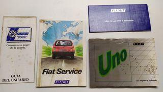 Fiat Uno Turbo manual instrucciones