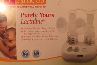 Sacaleches doble Ameda Lactaline nuevo BPA libre