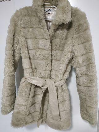 Abrigo muton talla 38