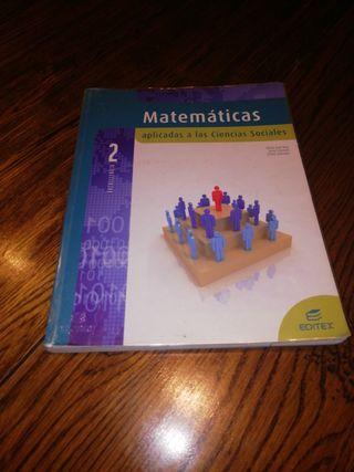 Matemáticas aplicadas a las ciencias sociales 2bac