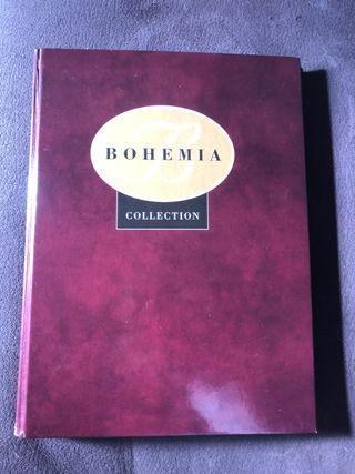 Libro bohemia collection - cristales
