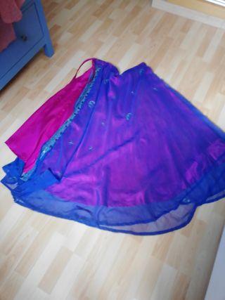 falda hindue fiesta