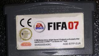 videojuego fifa gameboy advance