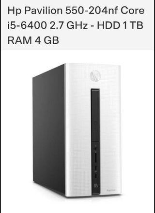 PC sobremesa HP Pavilion 550-253na intel core i5