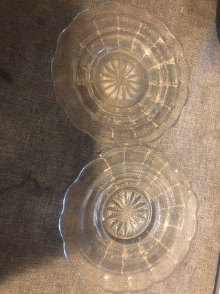 Platos de cristal