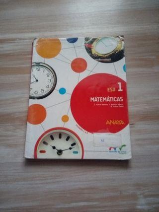 libro de matemáticas (1 eso)