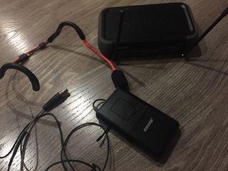 Conjunto micrófono y receptor shure