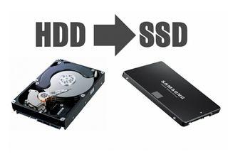 QUIERES CAMBIAR TU DISCO A SSD (CAMBIO RADICAL PC)