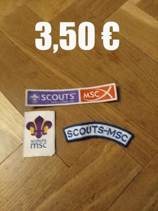 insignias scout / scouts