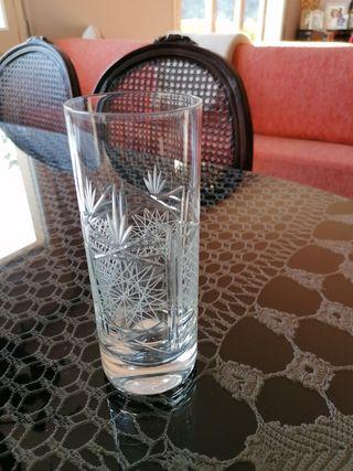 Cristal de bohemia tallado a mano