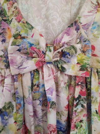 vestido estampado flores!