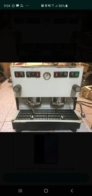 Cafetera Illy Gran oferta
