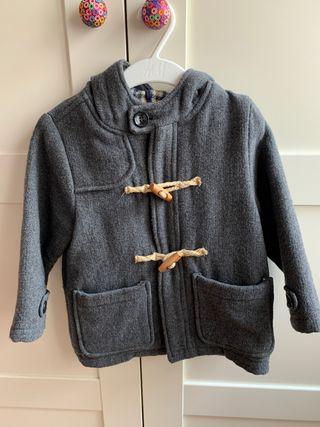 abrigo € mano gris 20 segunda Zara por Trenca baby de en 35AcRjLq4