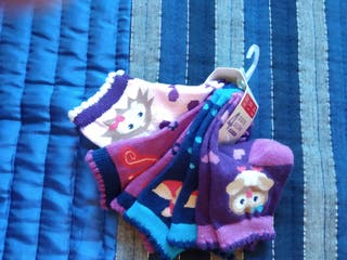 4 pares de calcetines bebé