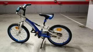 Bicicleta niño California con ruedines