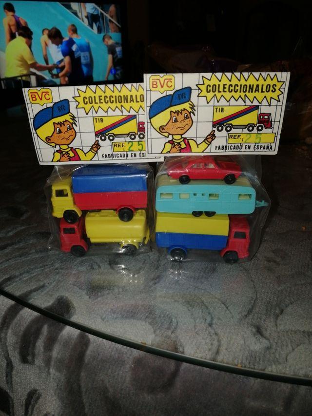 Antiguo juguete de plasticoBVC