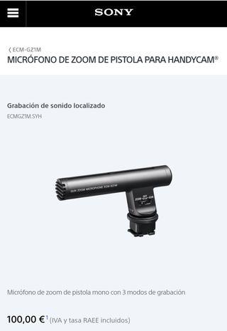 A ESTRENAR micrófono profesional sony
