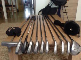 Set 11 Palos De Golf MIZUNO T-ZOID carbono/acero