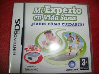 """Videojuego nintendo DS """"mi experto en vida sana"""""""