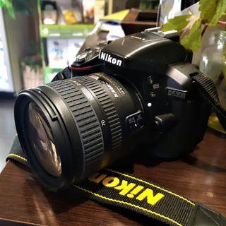 Camara Nikon D5300 + Lente AF-S NIKKOR 18-70 mm
