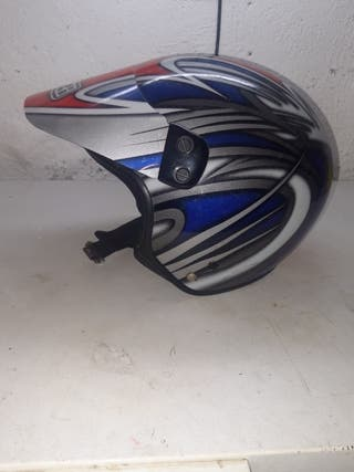 casco de moto de trial