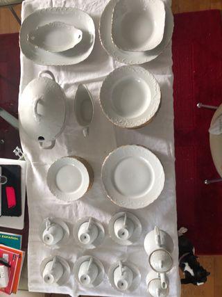 Porcelana Bavarian 64 piezas