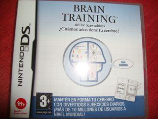 "Videojuego nintendo DS ""brain training"""