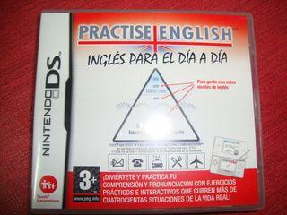 """Videojuego nintendo DS """"practise english"""""""