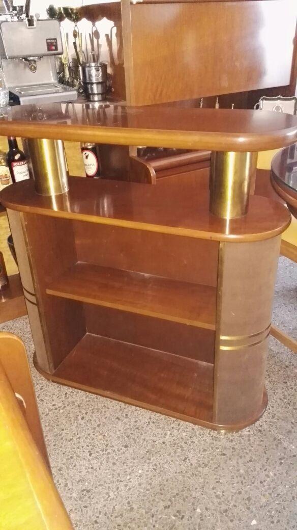 mesa+6 sillas+mueble barra de bar