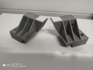 soportes de bandeja maletero opel corsa c