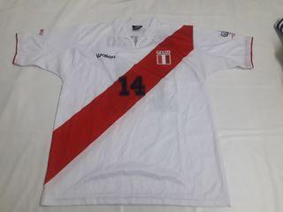 Camiseta de Futbol Seleccion de Peru