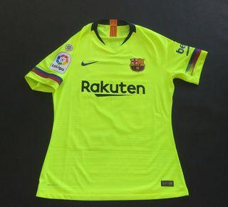 camiseta FCB Barcelona aleña 2018 match worn