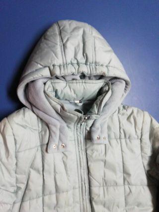 abrigo niña tipo plumifero calentito