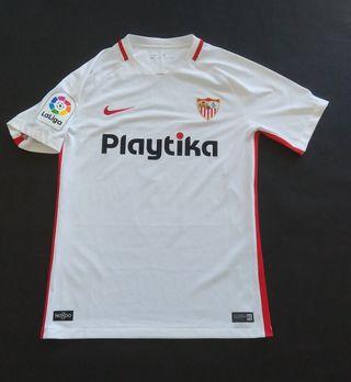 camiseta sfc Sevilla Roque mesa Nike previa Europa