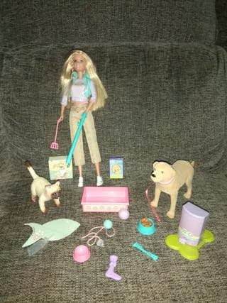 Barbie cuidadora de animales