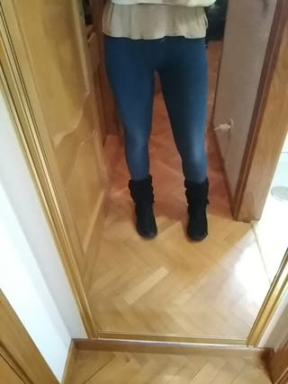 leggings vaqueros push up