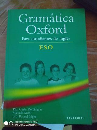 Libro Gramática Oxford ESO (Inglés)