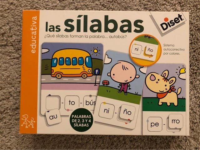 Juego Las Sílabas Diset