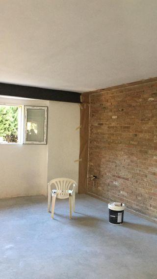 lisado de paredes, eliminado de gotele y pintura