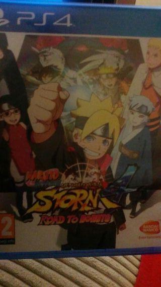 Naruto shippuden ultimate nijna strom 4 para ps4
