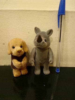 Muñecos peluche animales