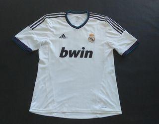 camiseta match worn real Madrid Sergio ramos 2012