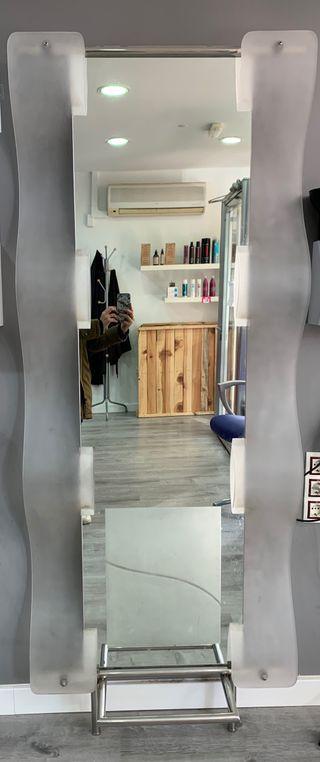 Espejo tocador peluquería
