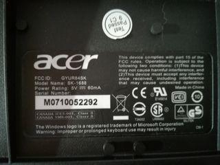 Teclado y ratón Acer