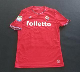 camiseta match worn fiorentina le coq Simeone