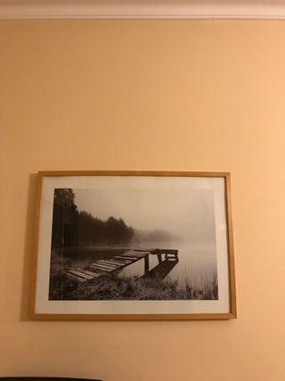 Cuadro paisaje Ikea